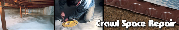 Crawl Space Repair in CO & NM, including Canon City, Durango & Grand Junction.