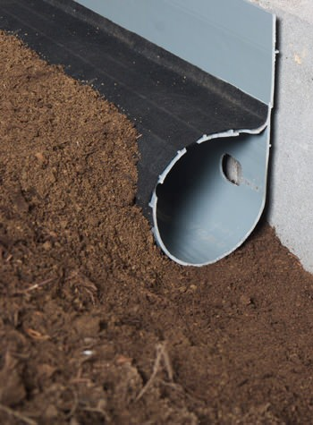 crawl space drain system installed in Cedaredge